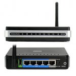 Маршрутизатор D-Link DIR-320 Wireless 150Mbts Router 4 ports+USB Printer port