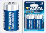 Батарейка Varta D High Energy