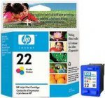 Картридж HP C9352AE color №22