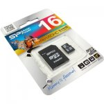 MicroSD Silicon Power 16Gb class10